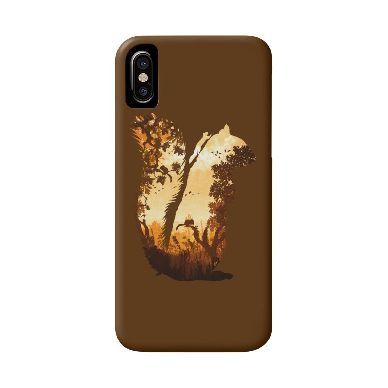 Squirrels in the Fall Accessories Phone Case by DVerissimo's