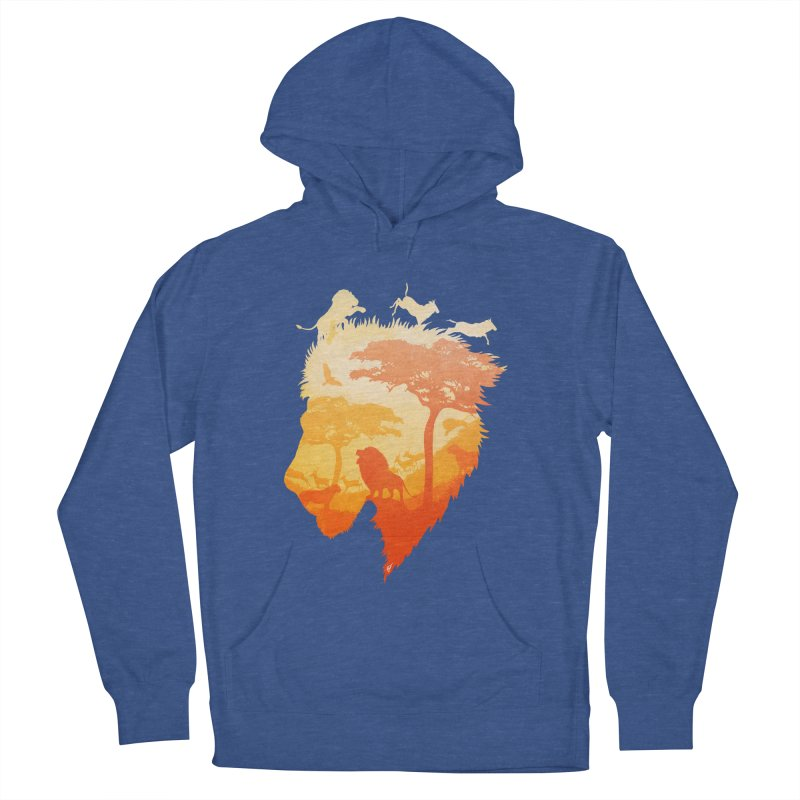 The Soul of a Lion Women's French Terry Pullover Hoody by DVerissimo's