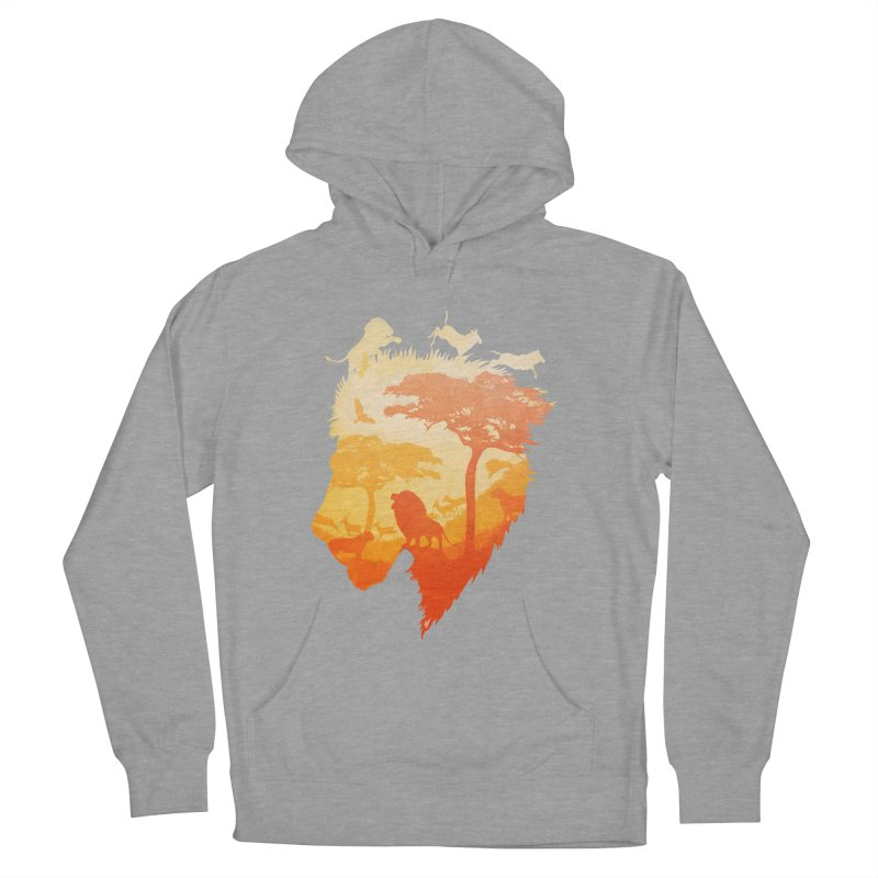 The Soul of a Lion Men's French Terry Pullover Hoody by DVerissimo's
