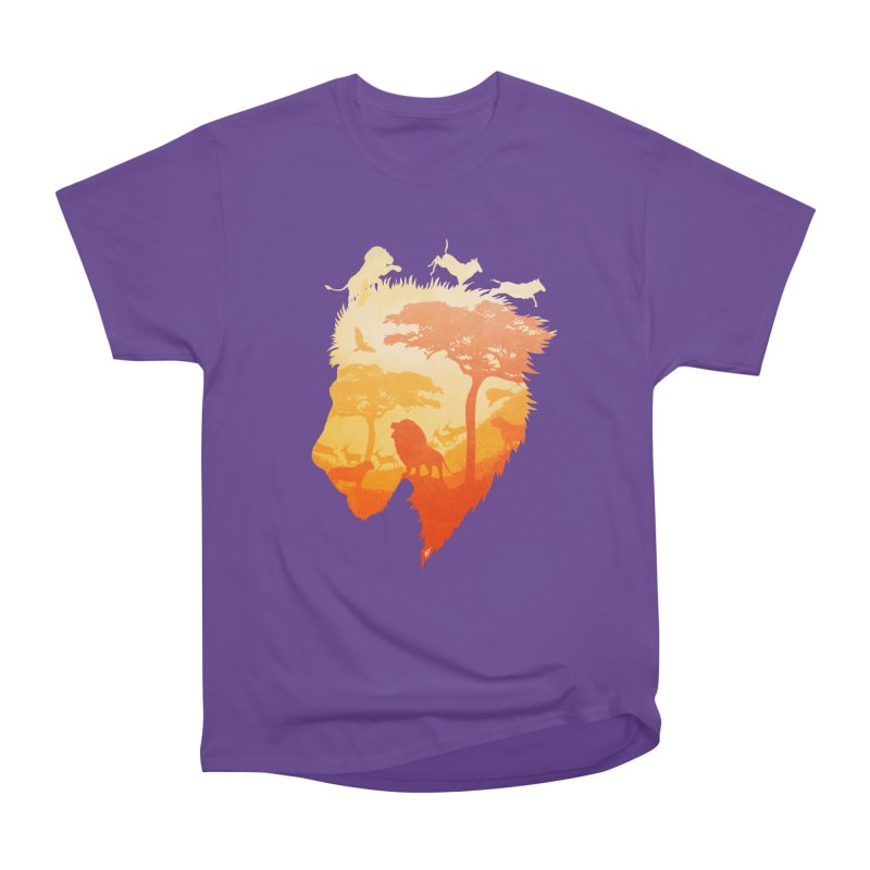The Soul of a Lion Women's Heavyweight Unisex T-Shirt by DVerissimo's