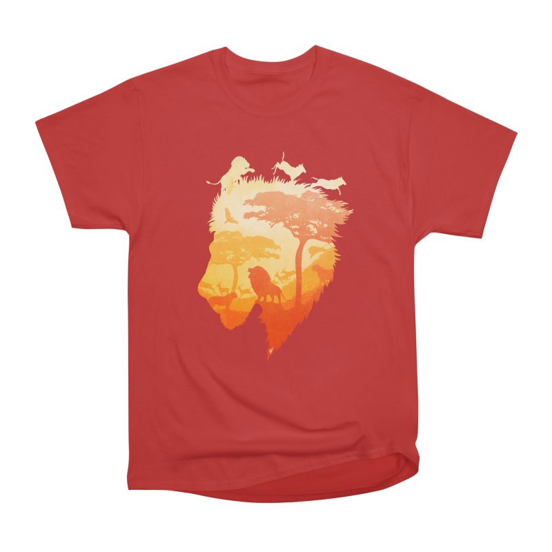 The Soul of a Lion Men's Heavyweight T-Shirt by DVerissimo's