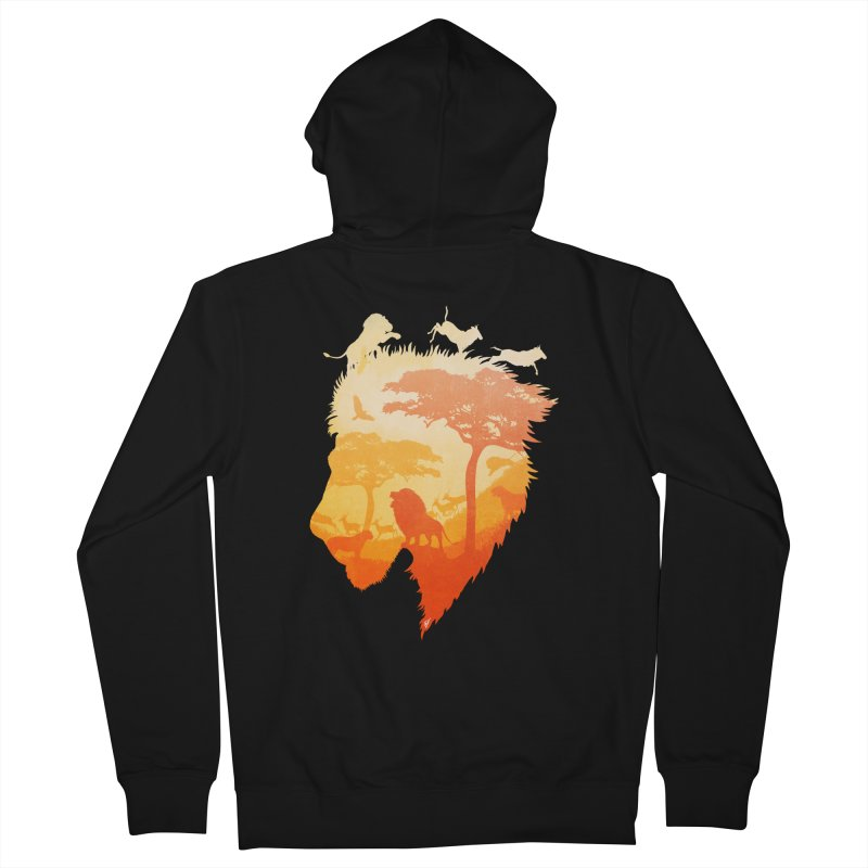 The Soul of a Lion Women's French Terry Zip-Up Hoody by DVerissimo's