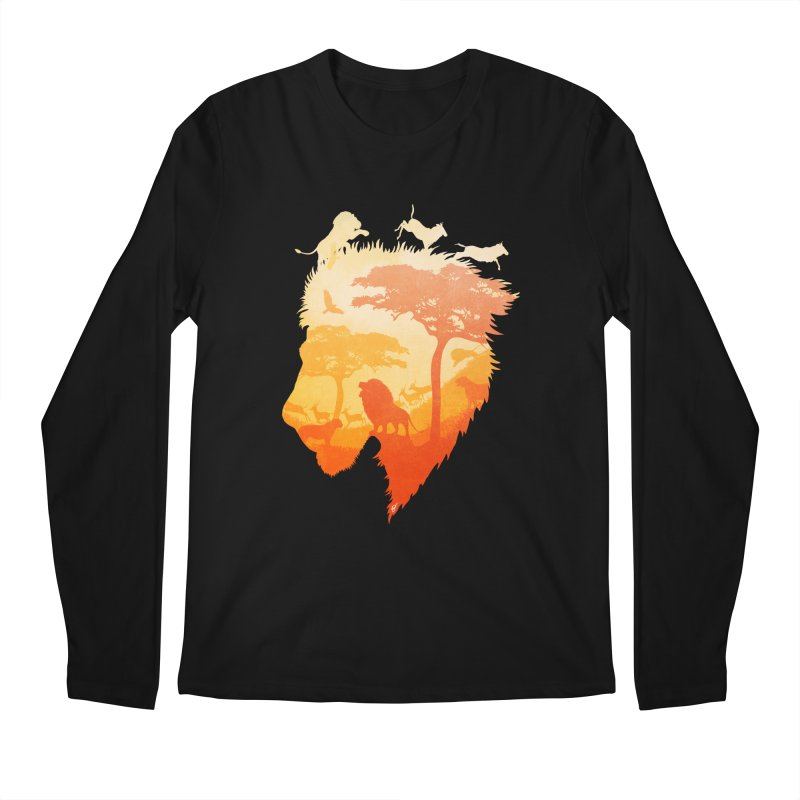 The Soul of a Lion Men's Regular Longsleeve T-Shirt by DVerissimo's