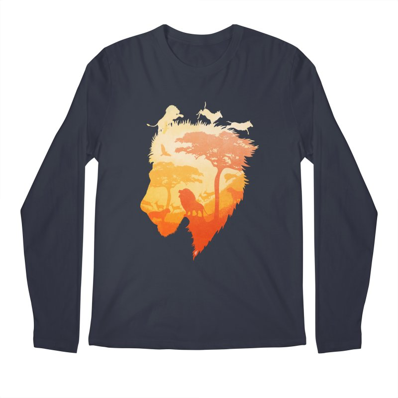 The Soul of a Lion Men's Longsleeve T-Shirt by DVerissimo's