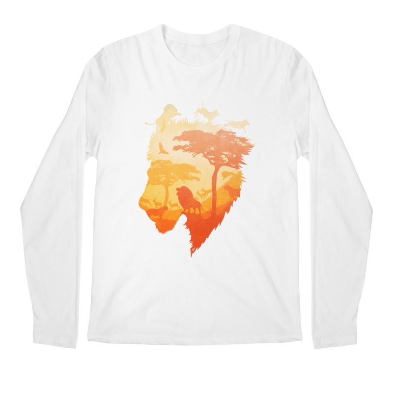 The Soul of a Lion Men's Regular Longsleeve T-Shirt by DVerissimo's