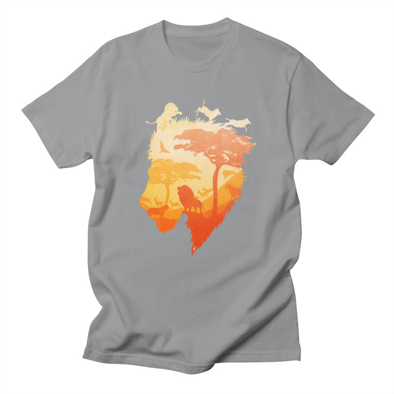 The Soul of a Lion Women's Regular Unisex T-Shirt by DVerissimo's