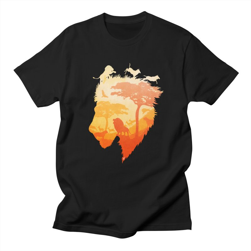 The Soul of a Lion Women's Unisex T-Shirt by DVerissimo's