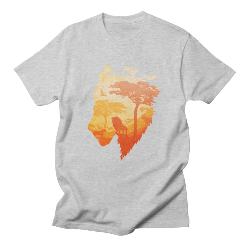 The Soul of a Lion Men's Regular T-Shirt by DVerissimo's