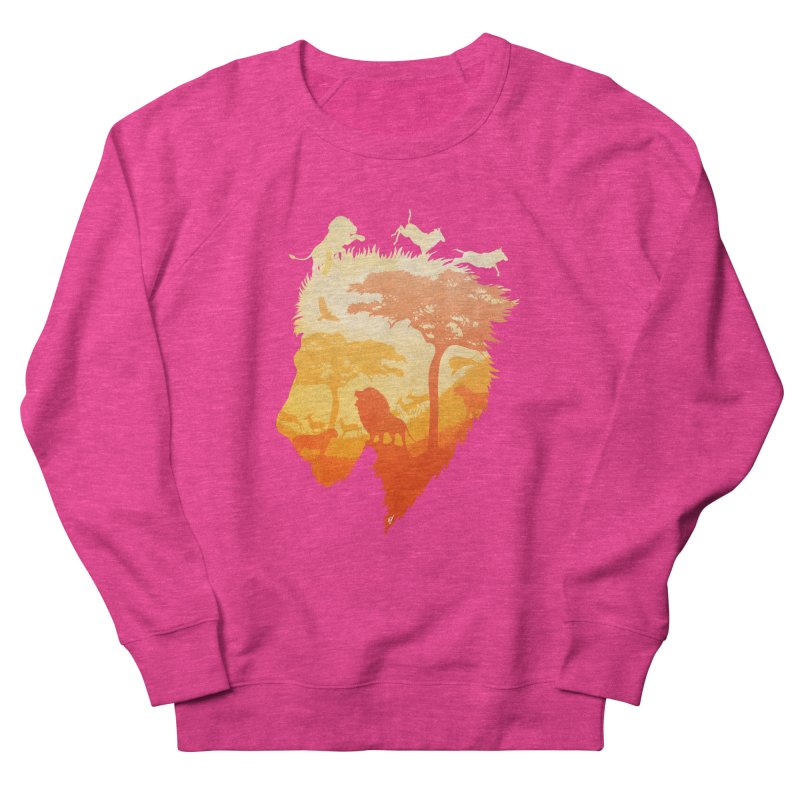 The Soul of a Lion Women's French Terry Sweatshirt by DVerissimo's