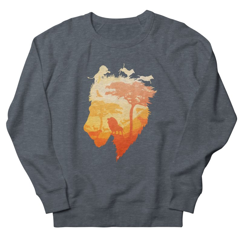 The Soul of a Lion Men's French Terry Sweatshirt by DVerissimo's