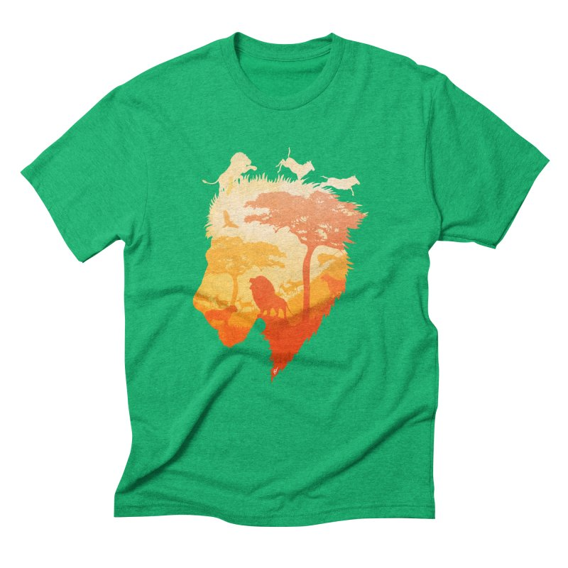 The Soul of a Lion Men's Triblend T-Shirt by DVerissimo's