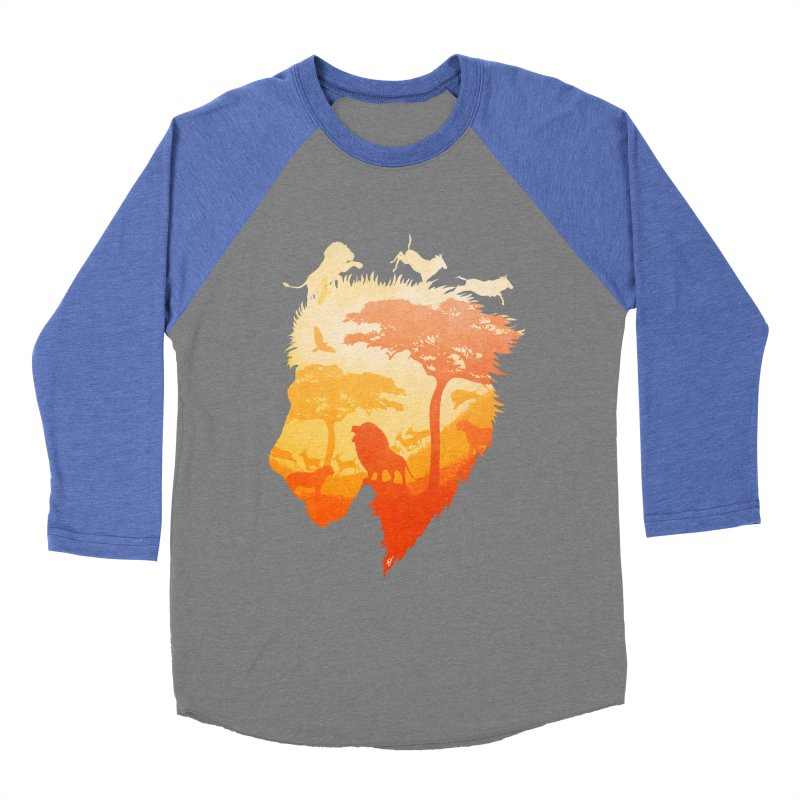 The Soul of a Lion Men's Baseball Triblend T-Shirt by DVerissimo's