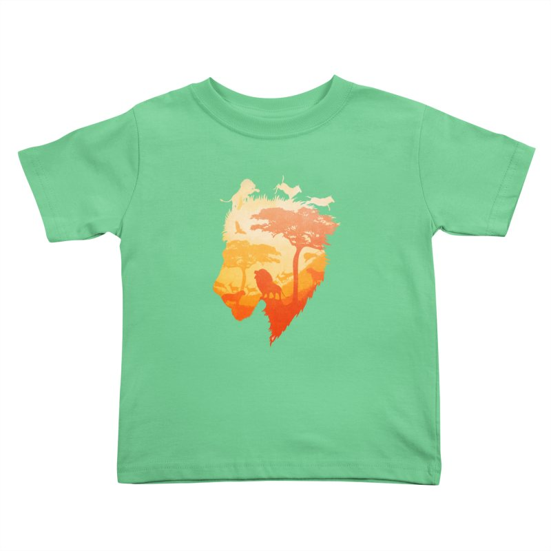 The Soul of a Lion Kids Toddler T-Shirt by DVerissimo's
