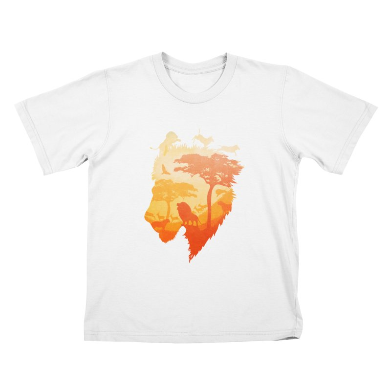 The Soul of a Lion Kids T-Shirt by DVerissimo's