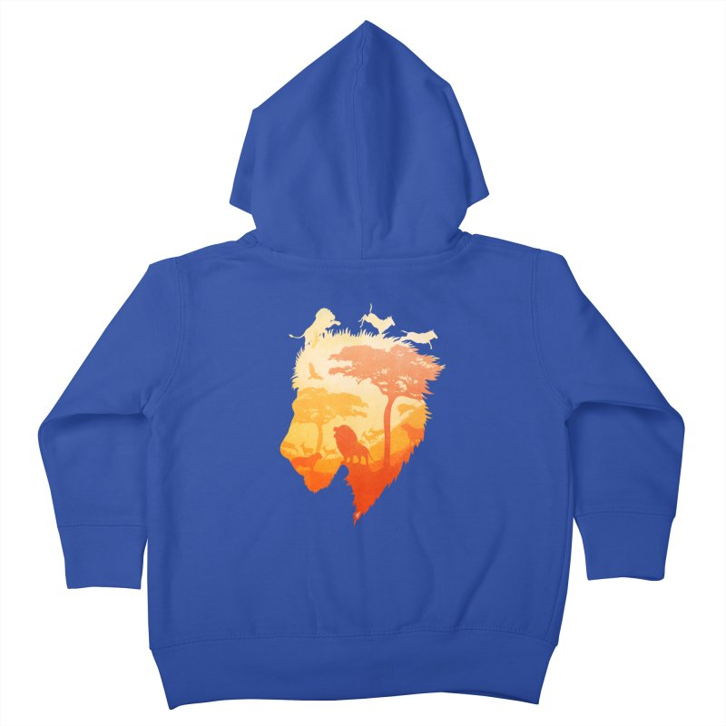 The Soul of a Lion Kids Toddler Zip-Up Hoody by DVerissimo's