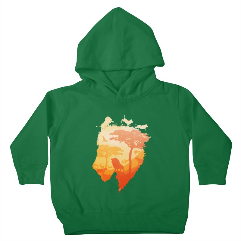 The Soul of a Lion Kids Toddler Pullover Hoody by DVerissimo's