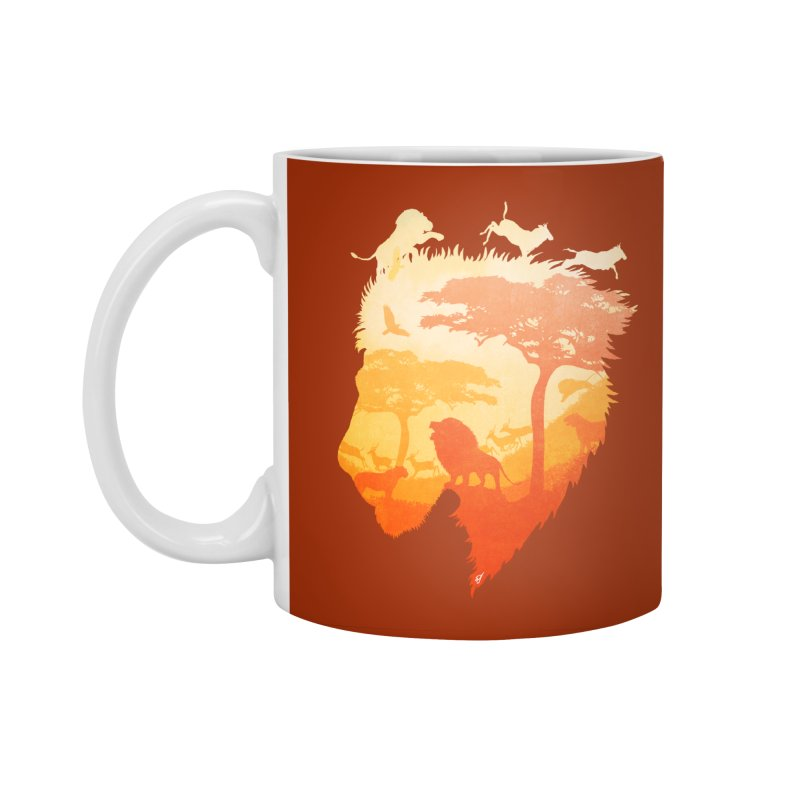The Soul of a Lion Accessories Standard Mug by DVerissimo's