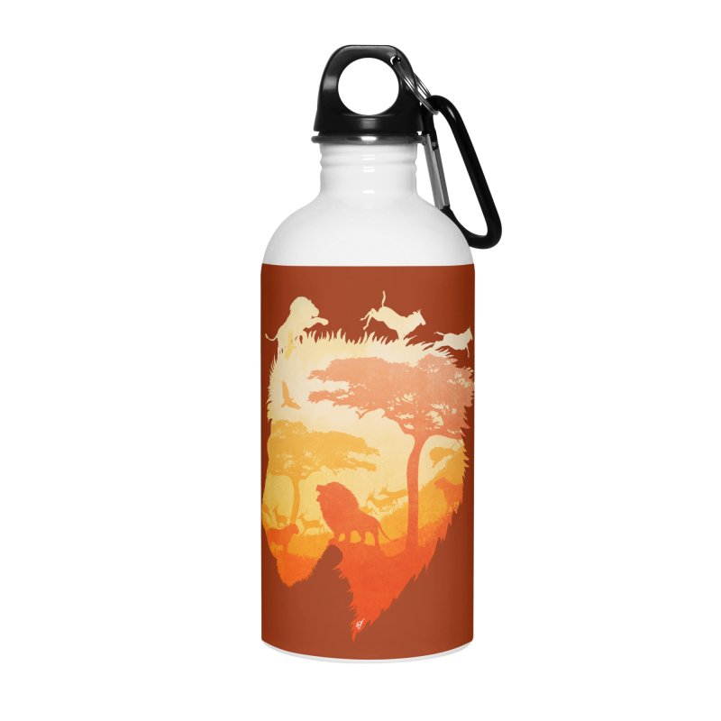 The Soul of a Lion Accessories Water Bottle by DVerissimo's