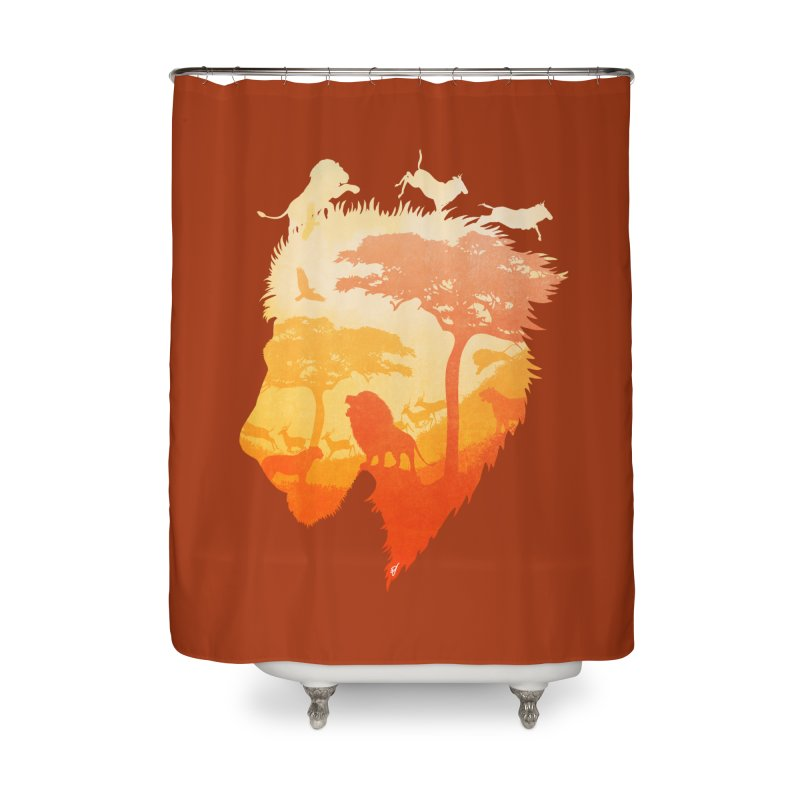 The Soul of a Lion Home Shower Curtain by DVerissimo's
