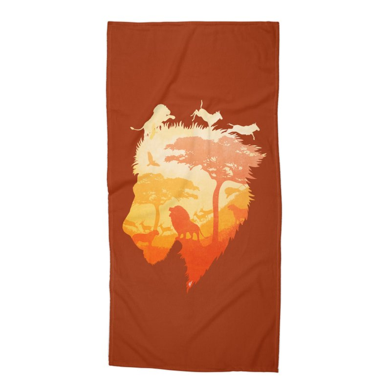 The Soul of a Lion Accessories Beach Towel by DVerissimo's