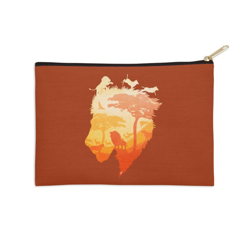 The Soul of a Lion Accessories Zip Pouch by DVerissimo's