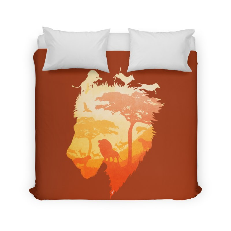 The Soul of a Lion Home Duvet by DVerissimo's