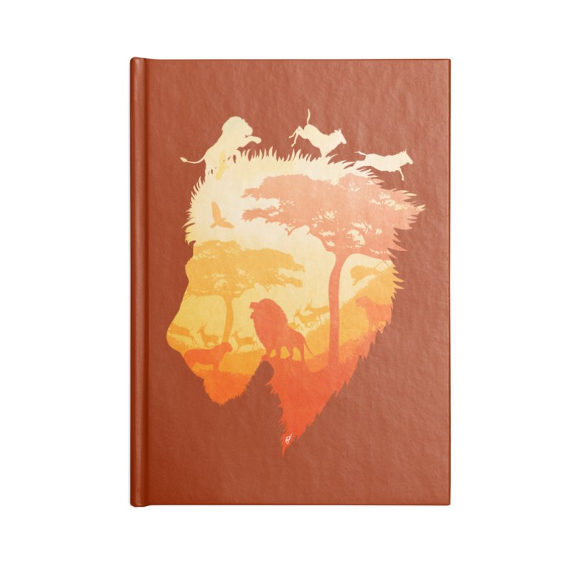 The Soul of a Lion Accessories Blank Journal Notebook by DVerissimo's