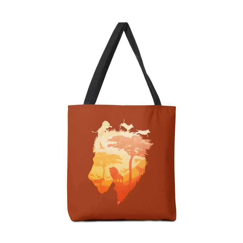 The Soul of a Lion Accessories Bag by DVerissimo's