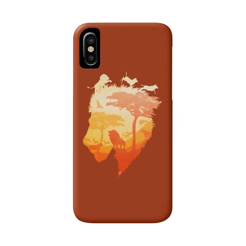 The Soul of a Lion Accessories Phone Case by DVerissimo's