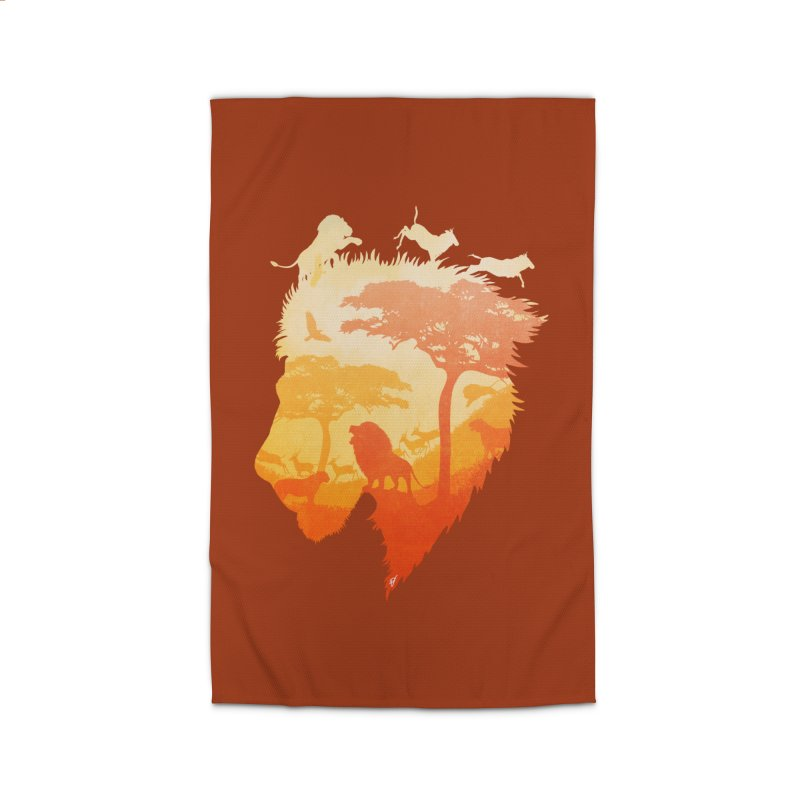 The Soul of a Lion Home Rug by DVerissimo's