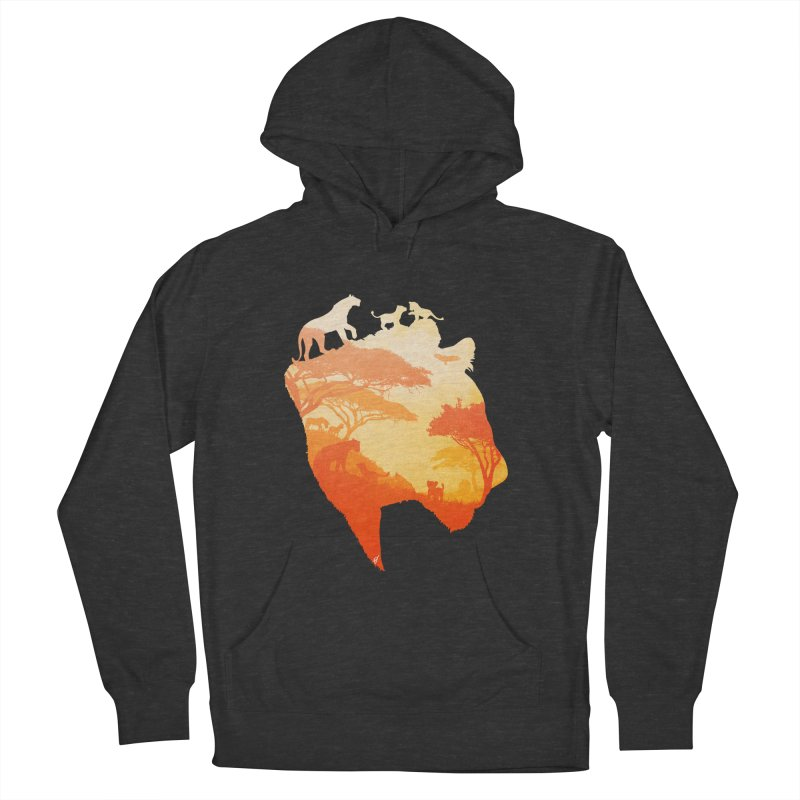 The Heart of a Lioness Women's Pullover Hoody by DVerissimo's