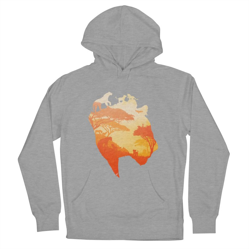The Heart of a Lioness Women's French Terry Pullover Hoody by DVerissimo's