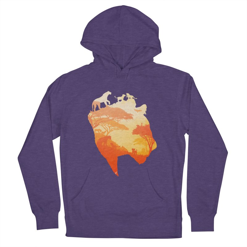 The Heart of a Lioness Men's Pullover Hoody by DVerissimo's