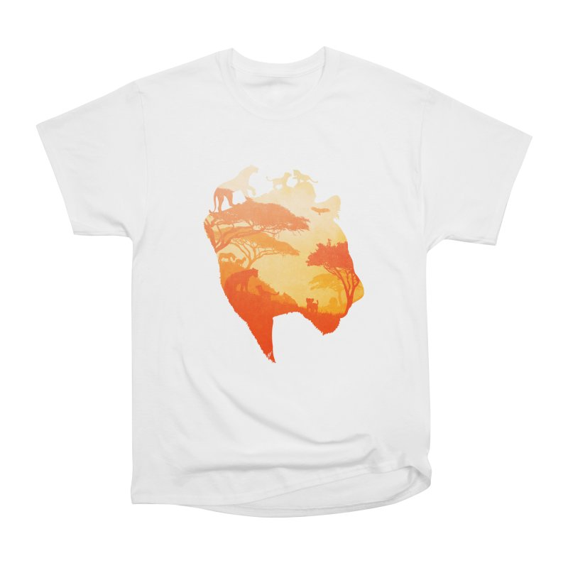 The Heart of a Lioness Men's Heavyweight T-Shirt by DVerissimo's