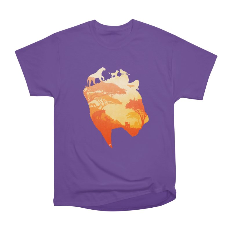 The Heart of a Lioness Women's Classic Unisex T-Shirt by DVerissimo's
