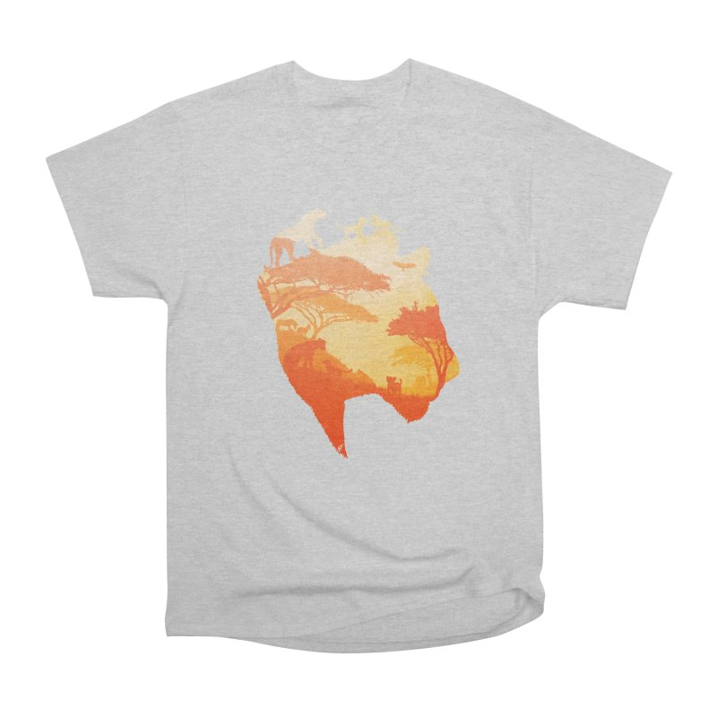 The Heart of a Lioness Women's Heavyweight Unisex T-Shirt by DVerissimo's