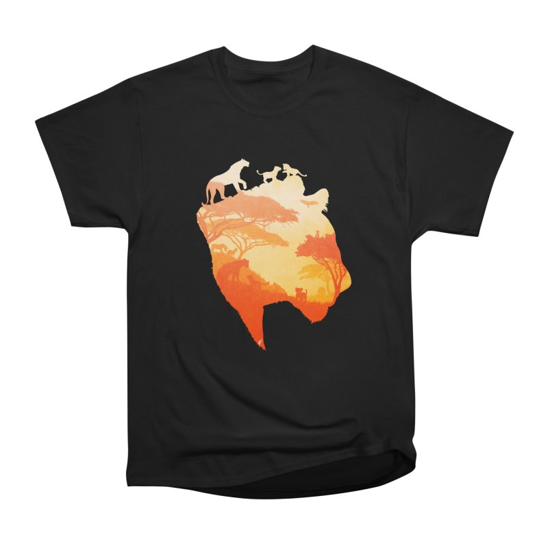 The Heart of a Lioness Men's Classic T-Shirt by DVerissimo's
