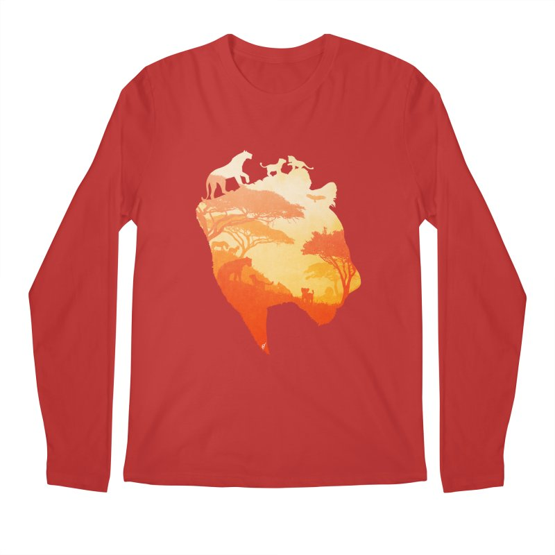 The Heart of a Lioness Men's Regular Longsleeve T-Shirt by DVerissimo's
