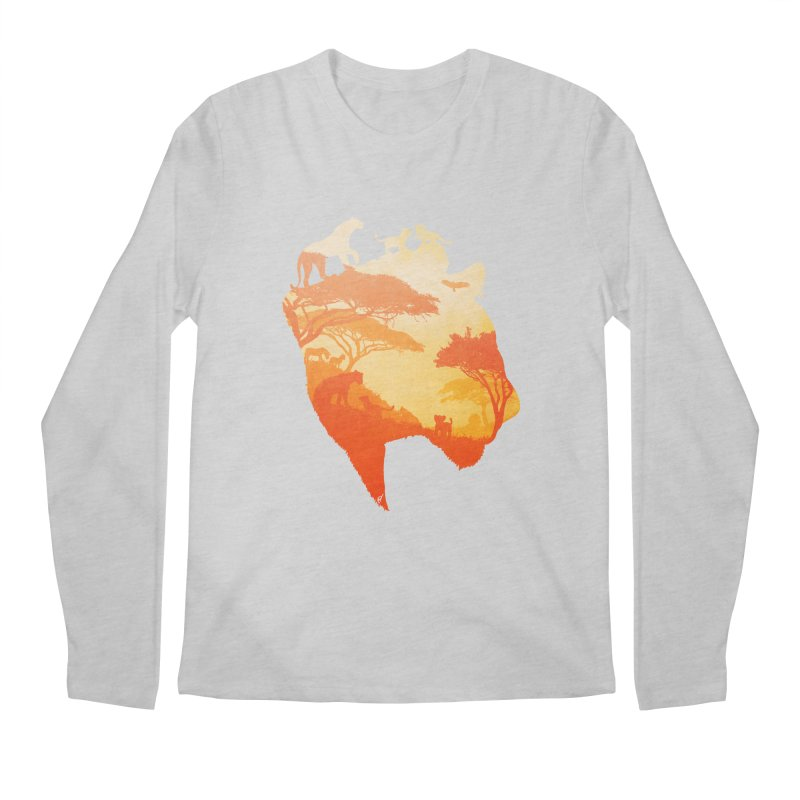 The Heart of a Lioness Men's Longsleeve T-Shirt by DVerissimo's