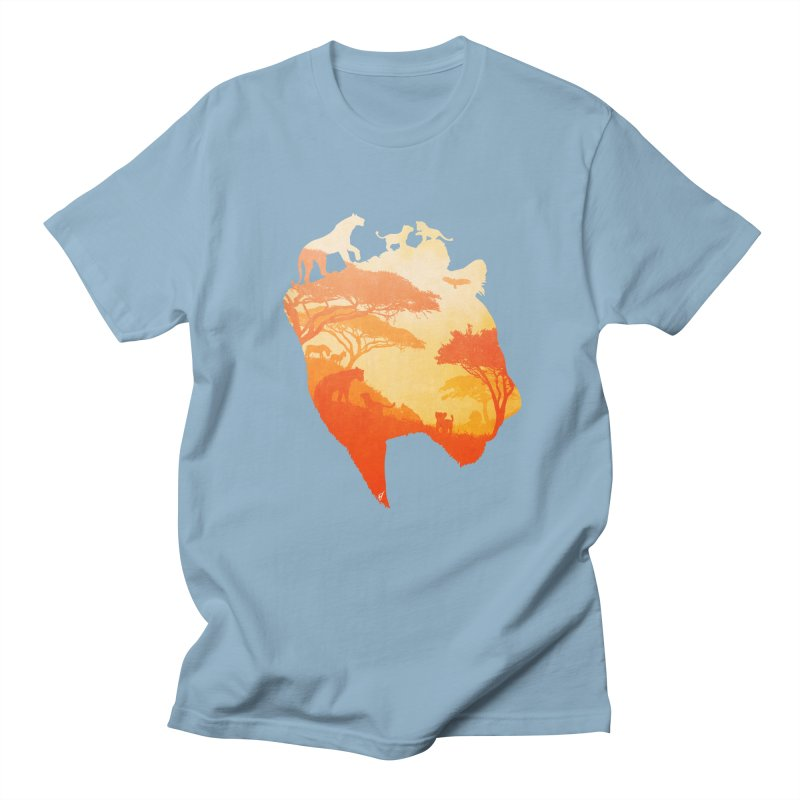 The Heart of a Lioness Men's Regular T-Shirt by DVerissimo's