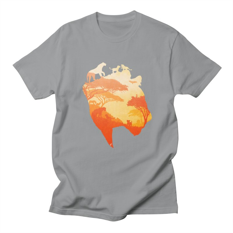 The Heart of a Lioness Men's T-Shirt by DVerissimo's