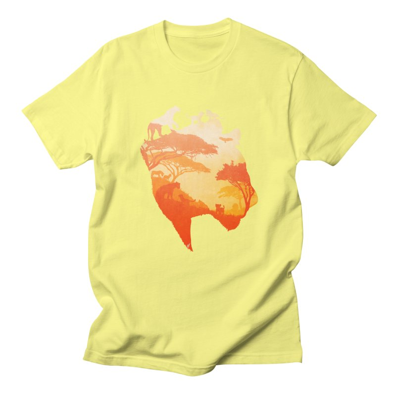 The Heart of a Lioness Women's Unisex T-Shirt by DVerissimo's