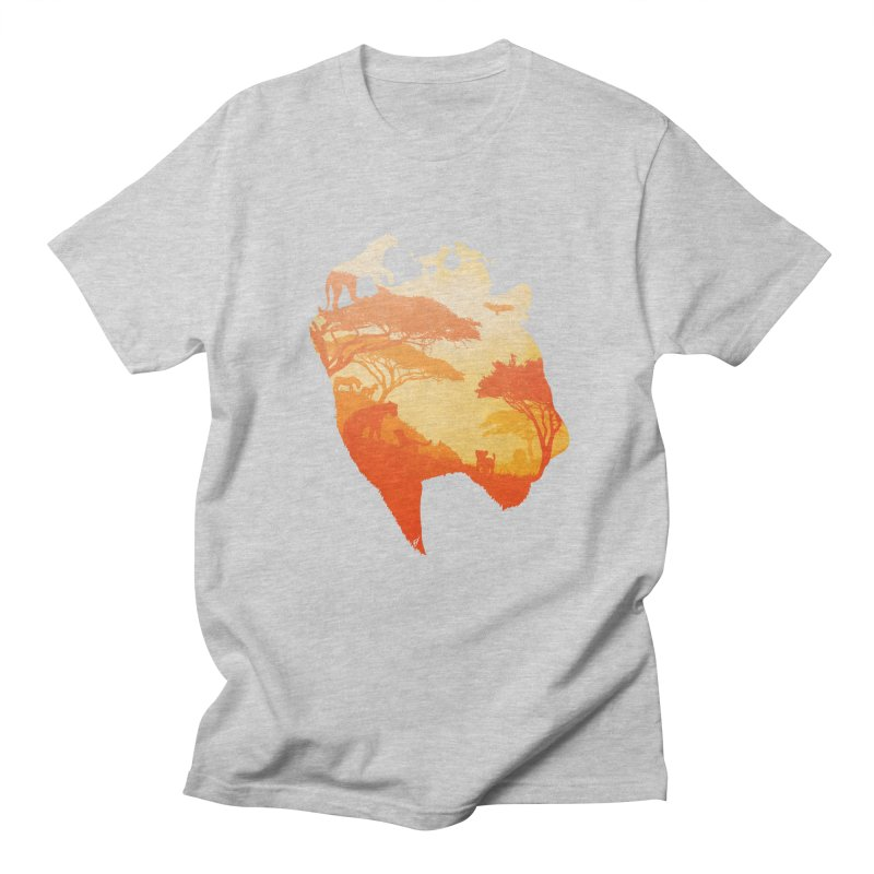 The Heart of a Lioness Women's Regular Unisex T-Shirt by DVerissimo's