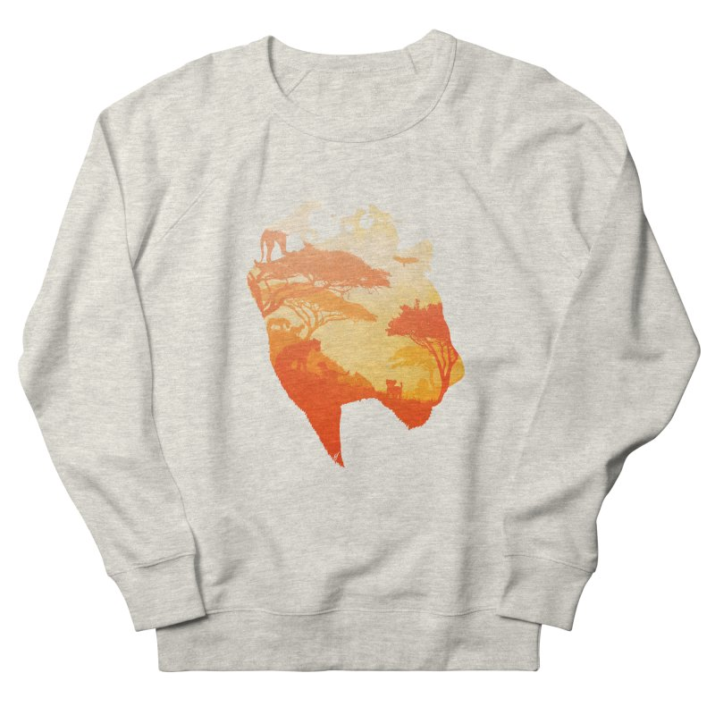 The Heart of a Lioness Women's French Terry Sweatshirt by DVerissimo's