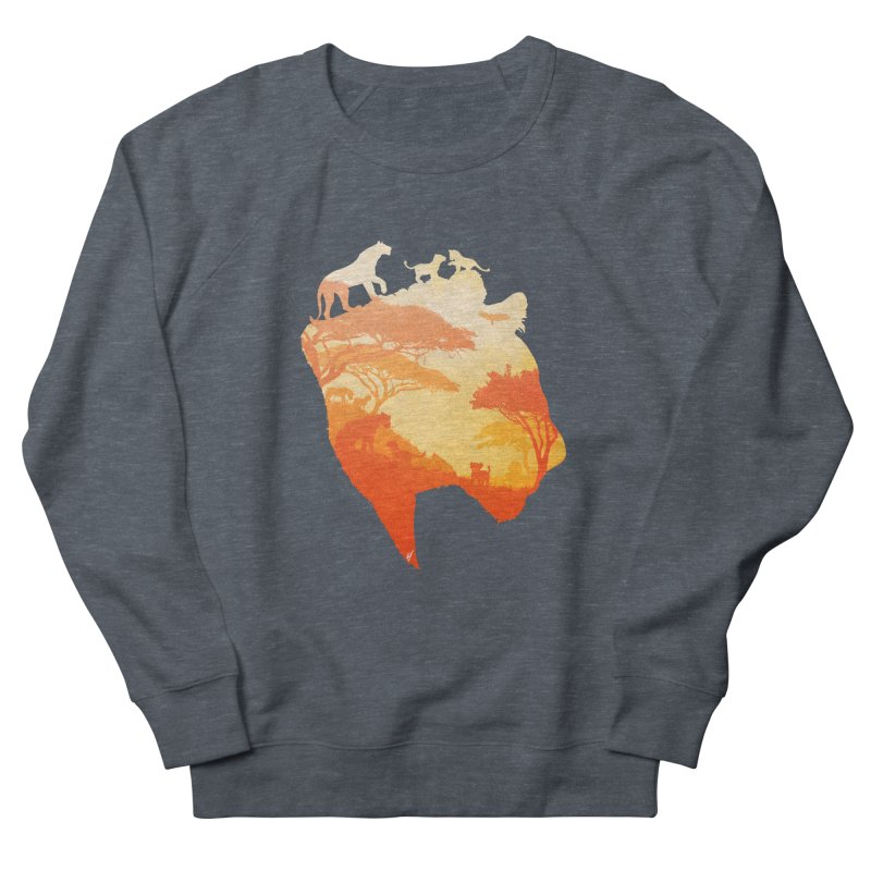 The Heart of a Lioness Men's Sweatshirt by DVerissimo's