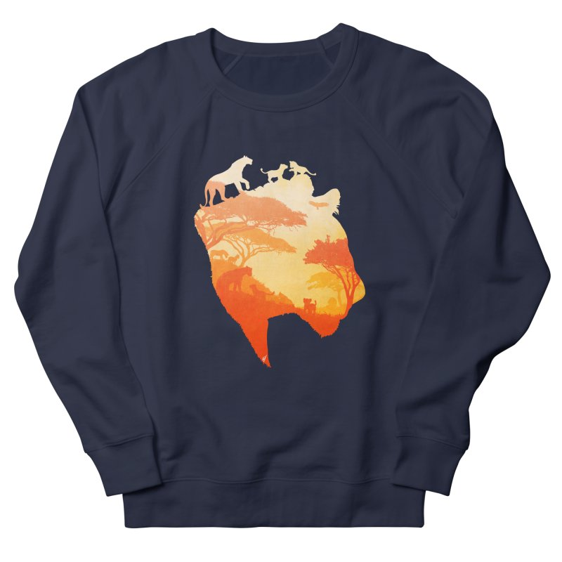 The Heart of a Lioness Men's French Terry Sweatshirt by DVerissimo's