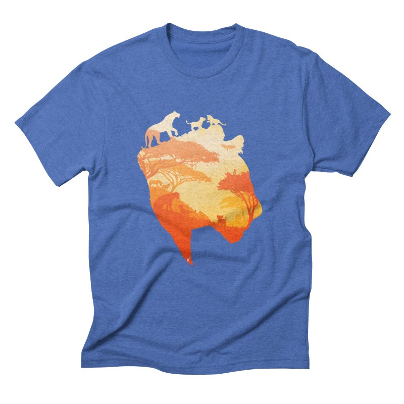 The Heart of a Lioness Men's Triblend T-Shirt by DVerissimo's