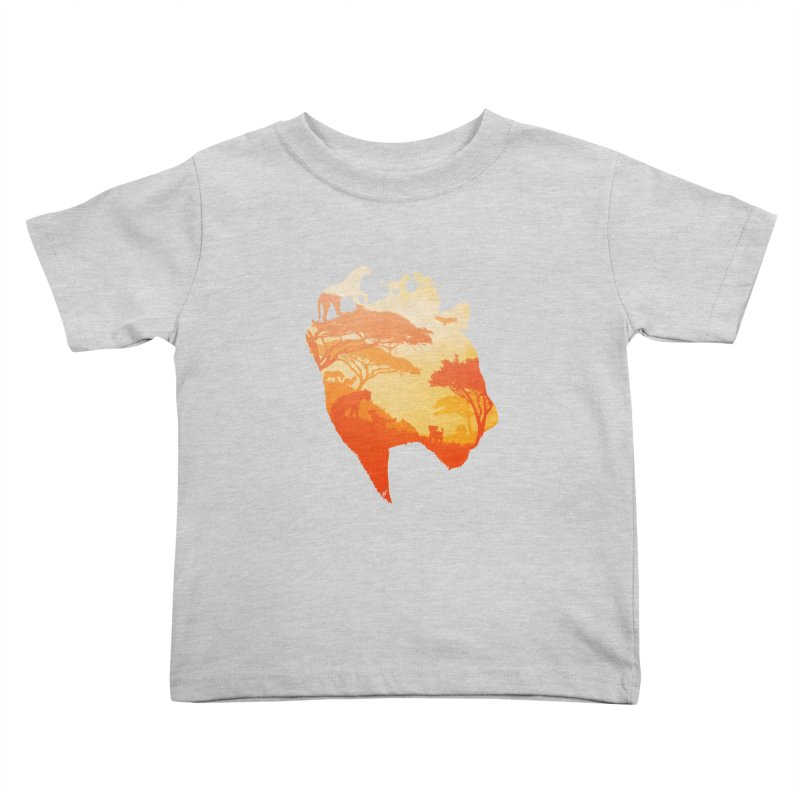 The Heart of a Lioness Kids Toddler T-Shirt by DVerissimo's