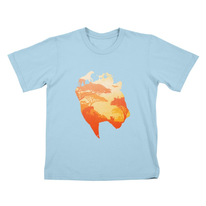 The Heart of a Lioness Kids T-Shirt by DVerissimo's
