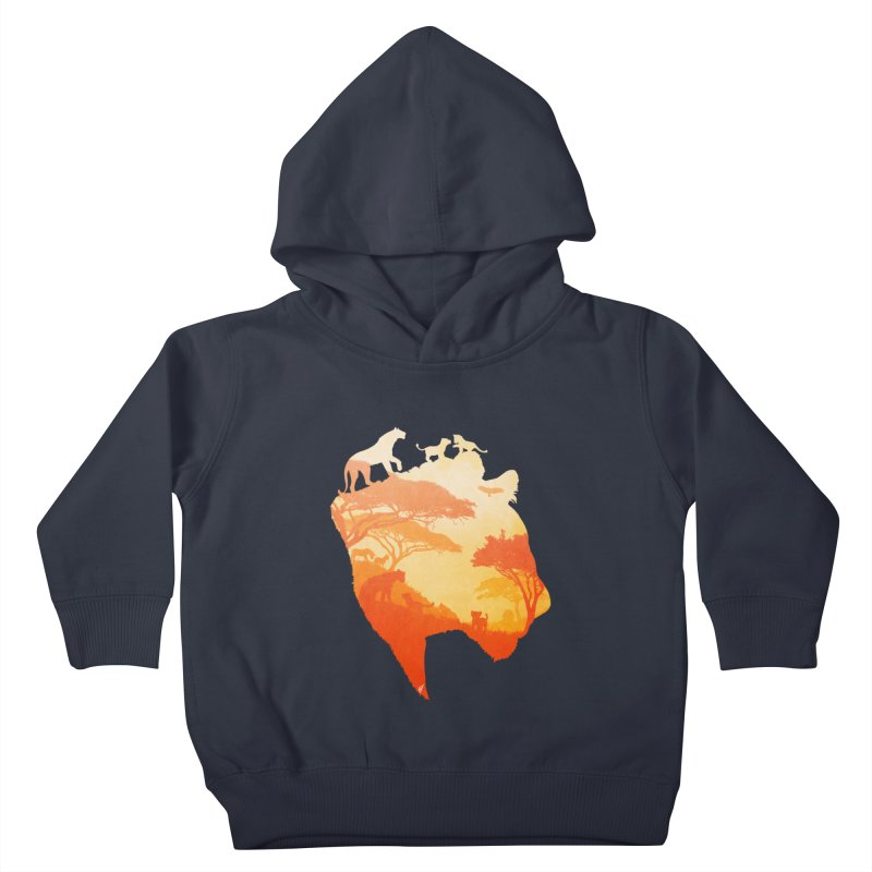 The Heart of a Lioness Kids Toddler Pullover Hoody by DVerissimo's